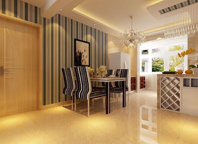 Dicas de decoração para paredes - listras, Dicas para decoração de parede, decoração de interior, listras na parede