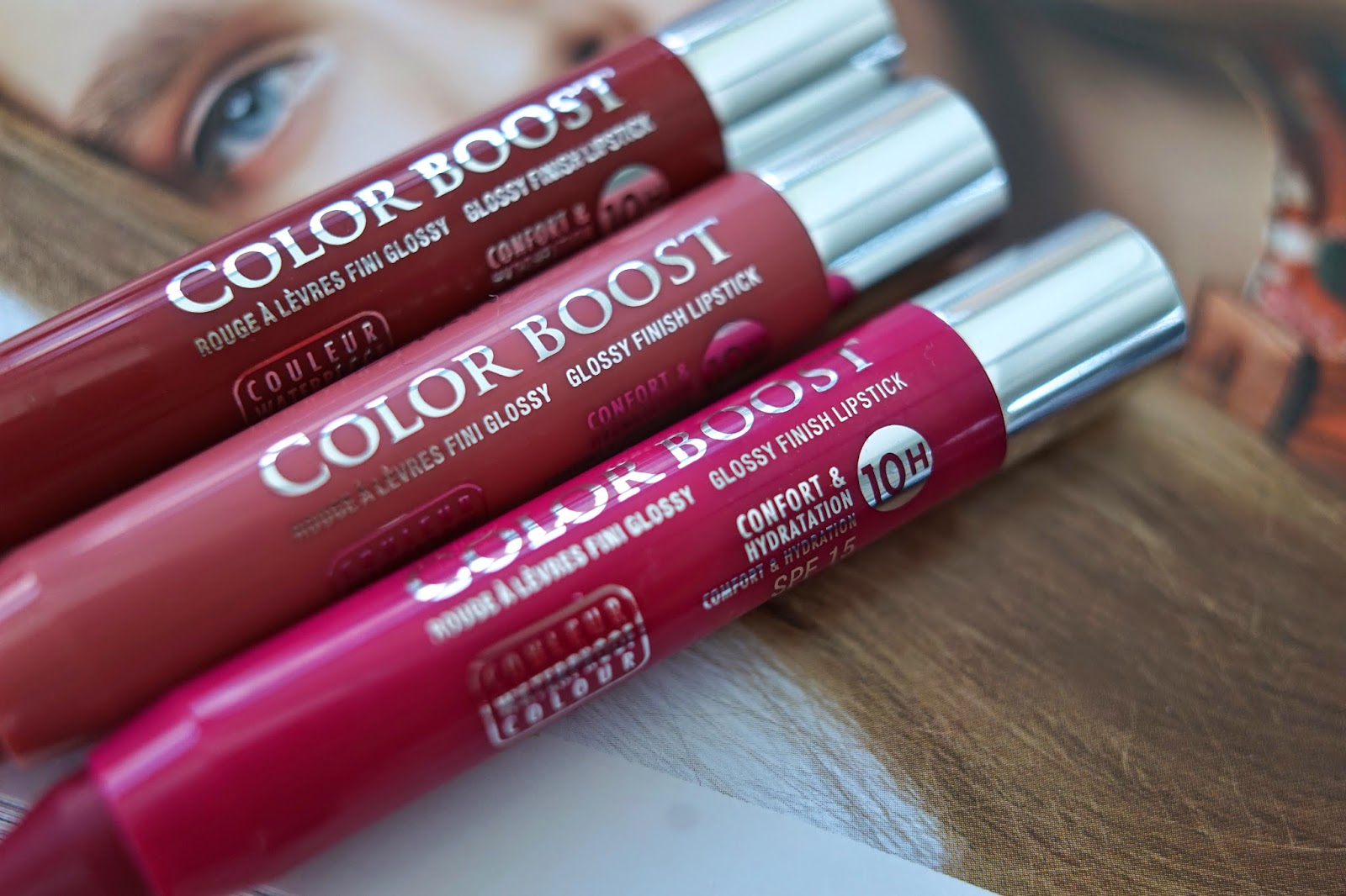 color boost lipsticks bourjois