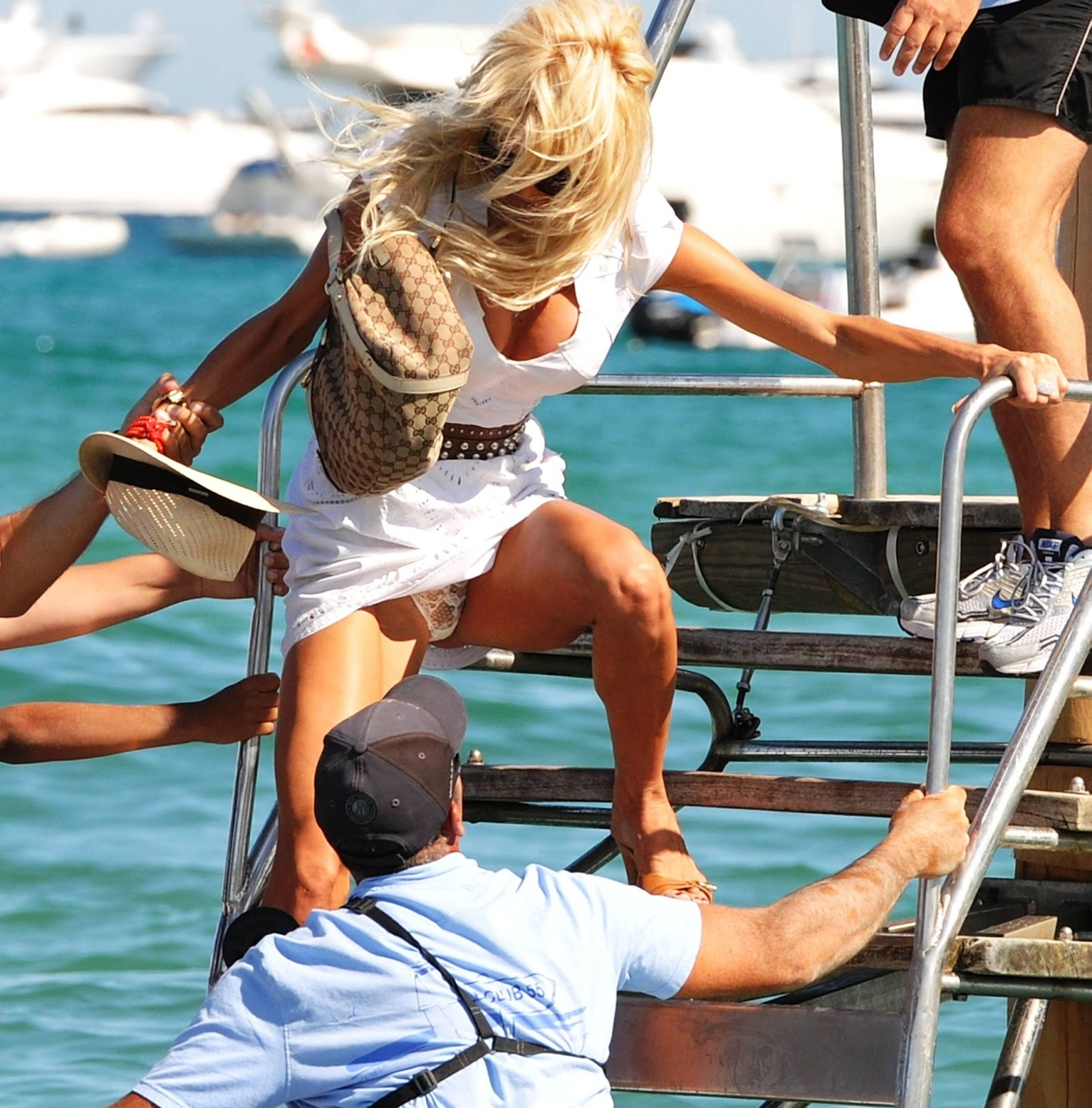 Victoria Silvstedt Upskirt Banned Sex Tapes