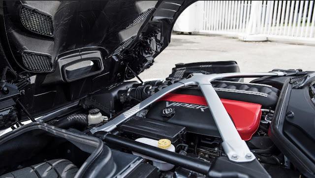 Ajustes en el motor que incrementa su potencia a 765 CV