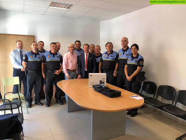 La Policía Local de Los Llanos de Aridane incorpora un drogotest a su equipamiento