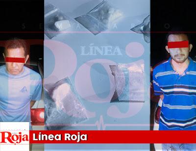 Detienen a dos presuntos narcomenudistas a bordo de un taxi de Playa del Carmen