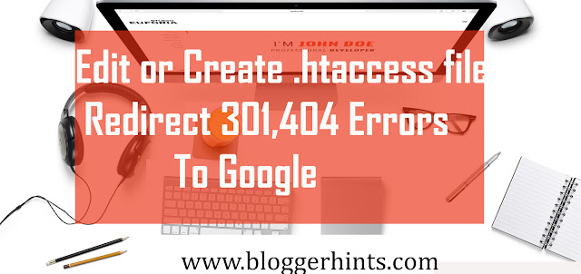 How to Edit or Create .htaccess file