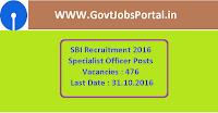 SBI Recruitment