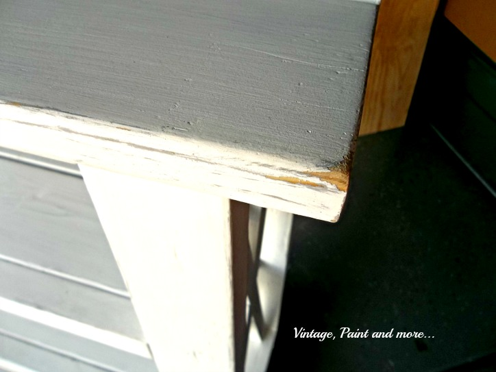 Vintage, Paint and more... diy distressed rustic x shelf
