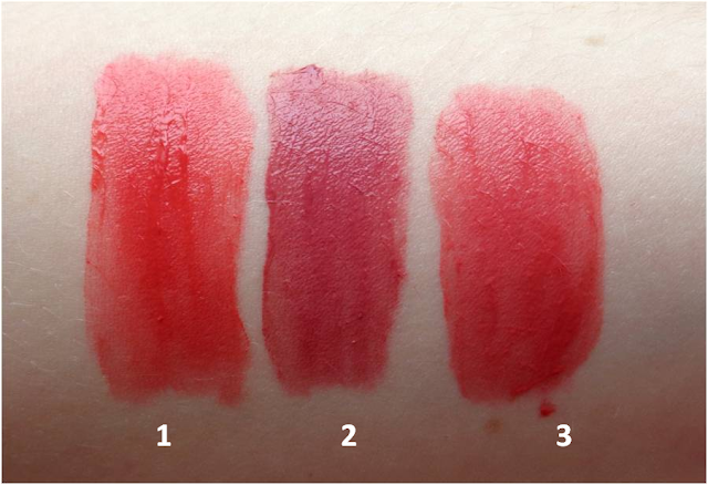 Bourjois Rouge Edition Velvet, swatches, Peach Club, Nude-ist, Happy Nude Year