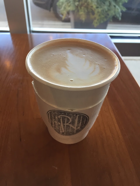 Yummy mocha lattes from Rockford Roasting Company