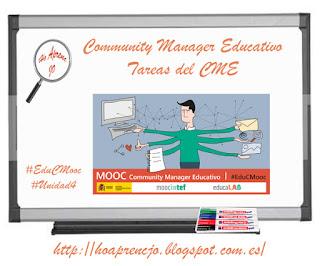 #EduCMooc, #estoyenlasredes, #hoaprencjoenxarxa, #sócalesxarxes, estoyenlasredes, herramientas, Ho aprenc Jo, hoaprencjo, social media plan, tareas, Community Manager Educativo,