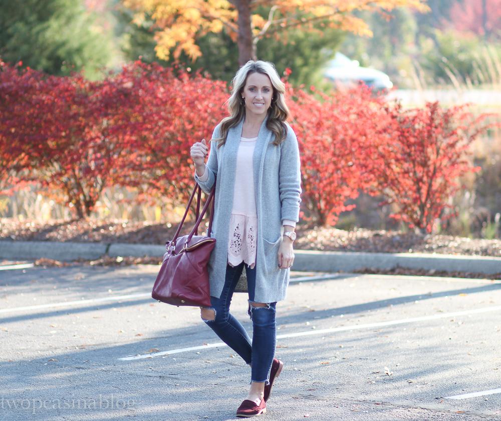982ebcdbac1 Two Peas in a Blog  Winter Cozy in blush pink + Shopbop Sale