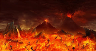 the lake of fire in hell