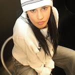 Andrea Rincon, Selena Spice Galeria 19: Buso Blanco y Jean Negro, Estilo Rapero Foto 55