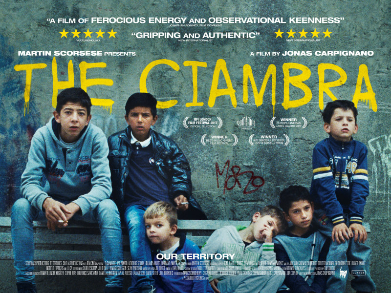 the ciambra movie poster