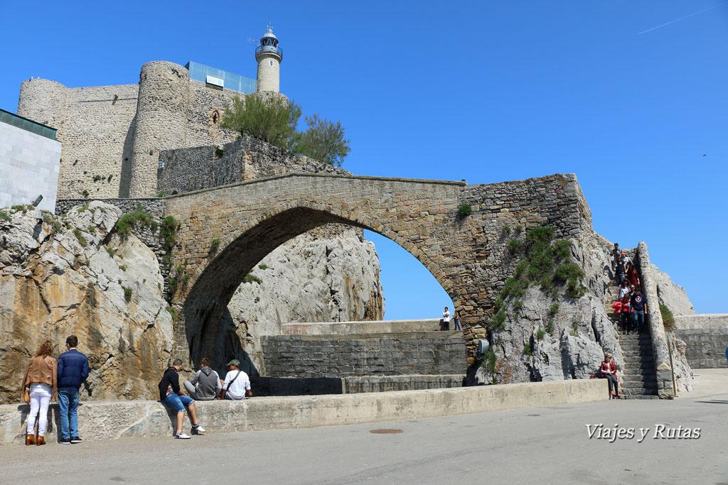 Puente medieval de Castro Urdiales