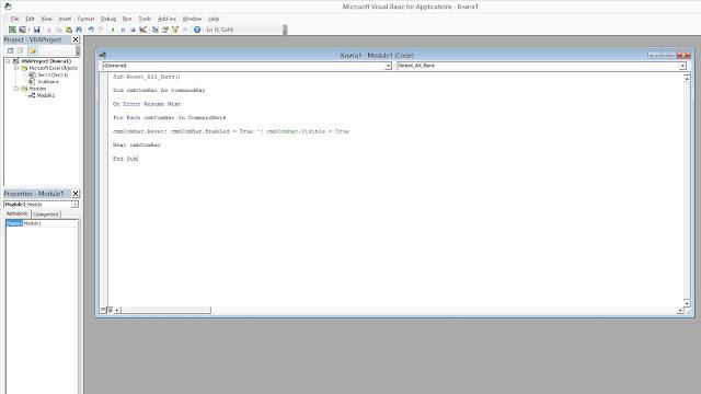 VBA-редактор в Excel