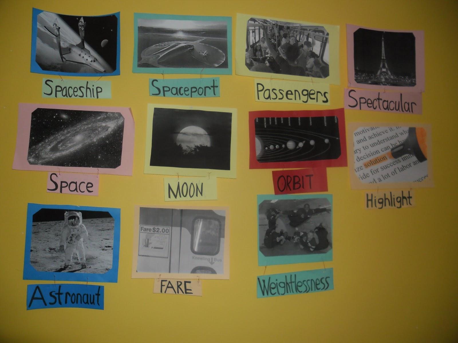 Burcu S World Space Tourism Reading Future Tense Will