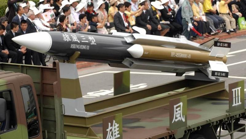 Rudal Hsiung Feng III buatan Taiwan
