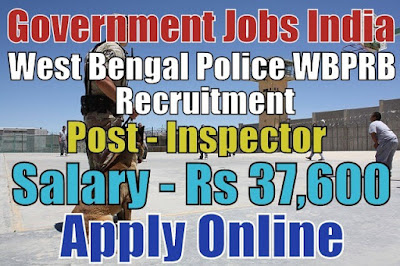 West Bengal Police WBPRB Recruitment 2018