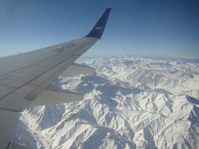 Viagem de avião até Mendoza