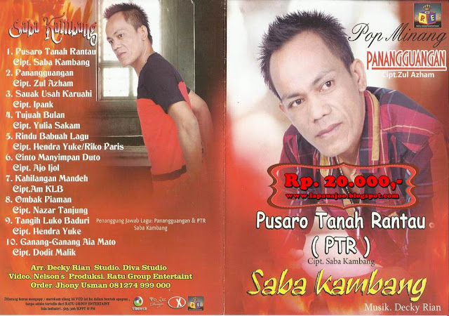 Saba Kambang - Pusaro Tanah Rantau (Album Pop Minang)
