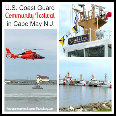 U.S. Coast Guard Community Festival in Cape May, New Jersey