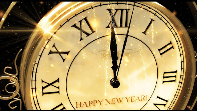 Happy New Year 2020 Countdown Clock Timer