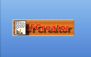 membuat file baca dengan Pdf creator