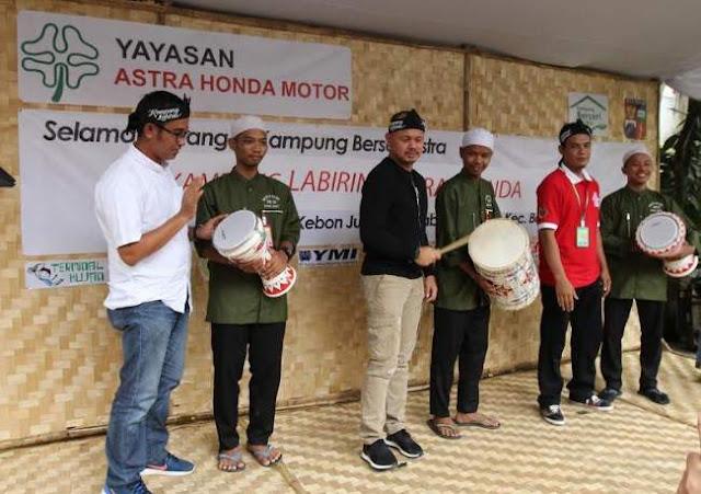 Kampung Labirin Astra Honda Moto