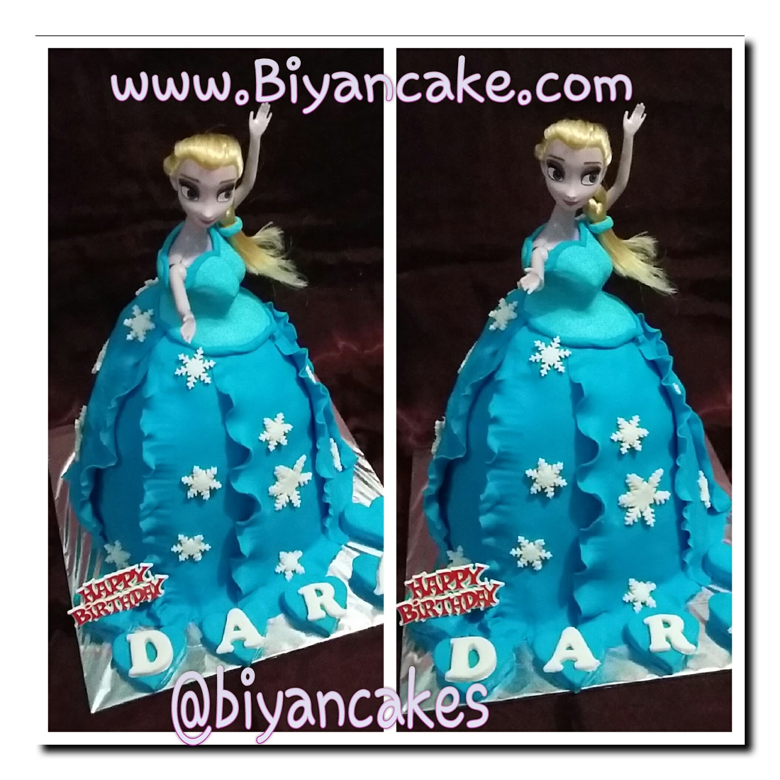 barbie cake frozen ~ dara