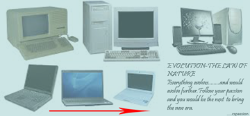 EVOLUTION OF COMPUTERS 2015