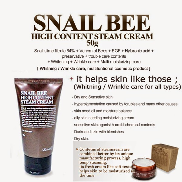 Image result for benton snail bee high content cream