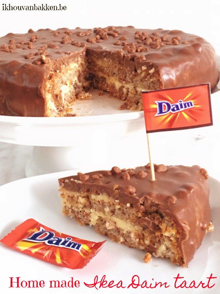Ik hou van bakken: Home made Ikea Daim taart (glutenvrij) Almondy Taart Glutenvrij