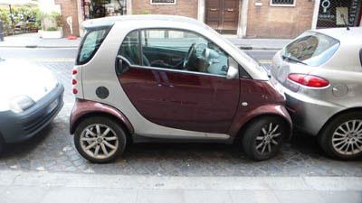 ローマ流駐車