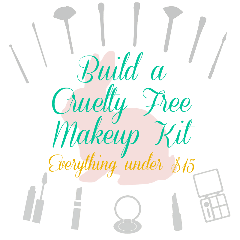 cruelty free makeup kit on a budget