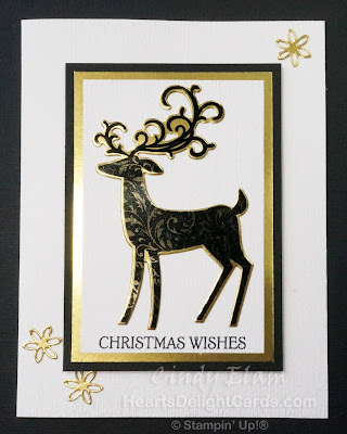 Heart's Delight Cards, Stamp Review Crew - Dashing Deer, SRC, Dashing Deer, Christmas, Stampin' Up!