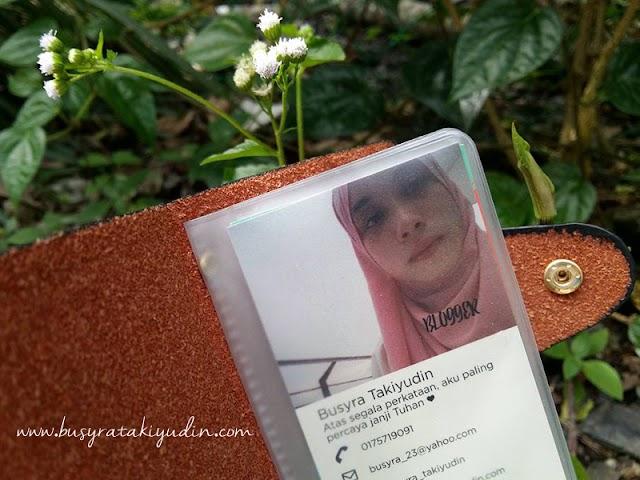 Senarai Peserta Giveaway Free Name Card by Busyra Takiyudin