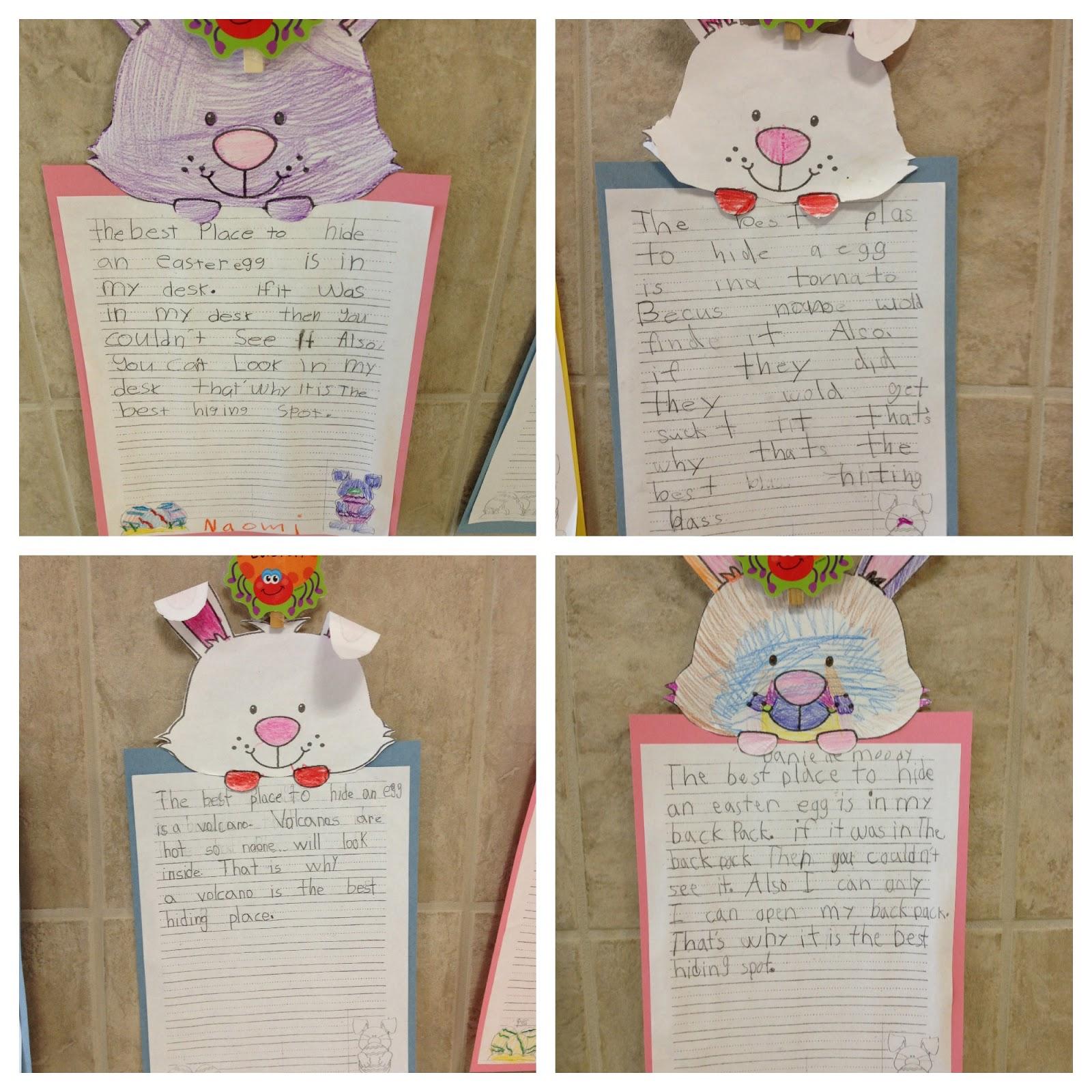 Crazy Daze In First Grade Easter Activities