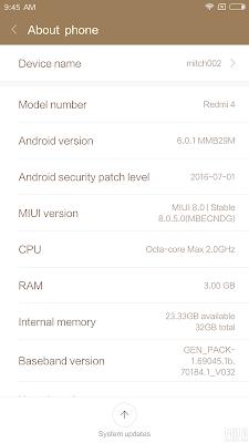 Cara Flash Xiaomi Redmi 4 / 4A / 4 Prime Via Mi Flash