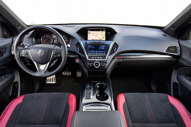 Interior view of 2019 Acura MDX AWD A-SPEC