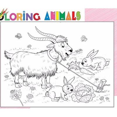 sách tô màu cho bé 3 tuổi