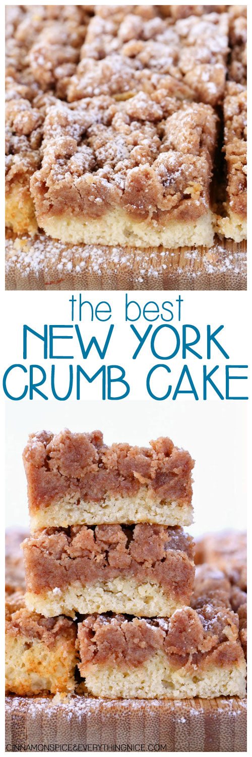 THE BEST NEW YORK CRUMB CAKE RECIPES