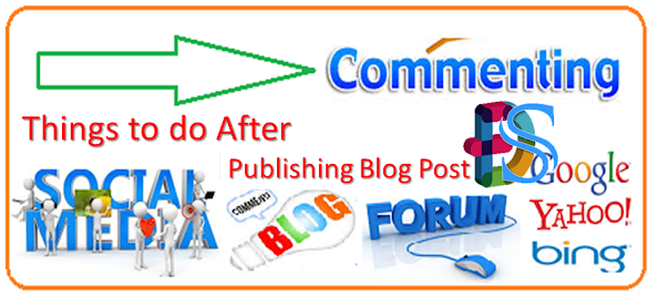 Things to do After Publishing Blog Post