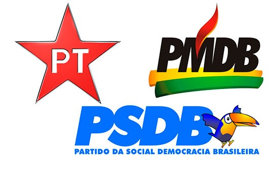Resultado de imagem para logo pt e psdb