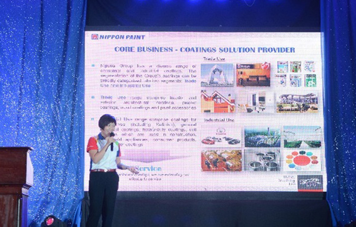Ms. Gladys Goh, Group General Manager (Nippon Paint M-Group)