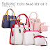 SoKaNo Trendz 012 Tote Bags Set of 3