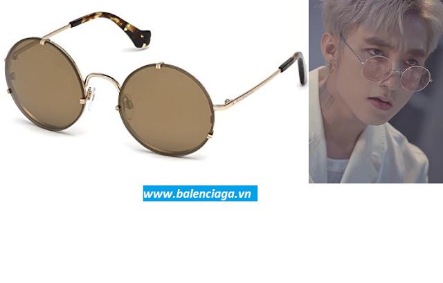Kính mát nam, nữ Balenciaga round glasses