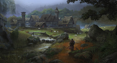 European Medieval Village by KlausPillon