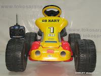2 Mobil Mainan Aki Junior TR6628 GoKart dengan Kendali Jauh 2