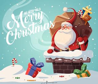 تهنئة بابا نويل 2021 راس السنة