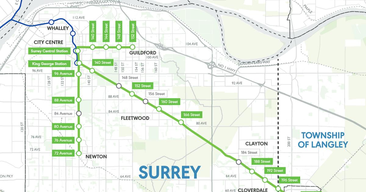 city of surrey map pdf