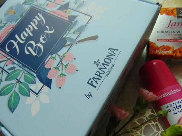 Happy Box by Farmona - Zawartość pudełka pełnego kosmetyków